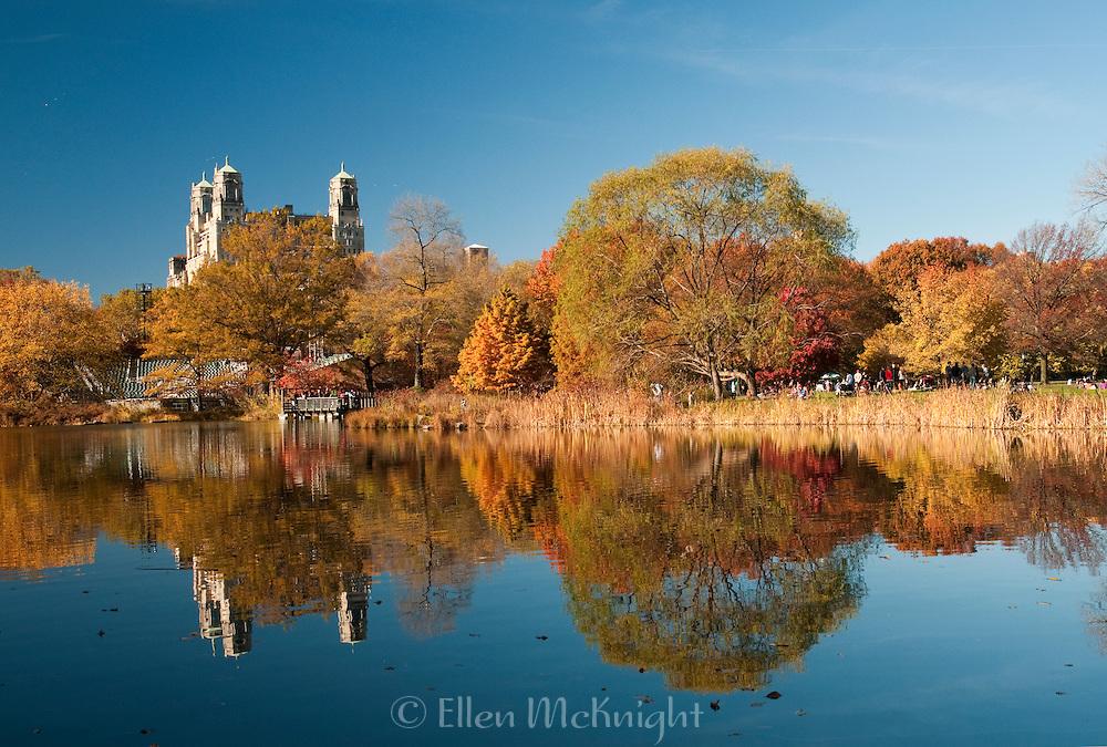 Turtle Pond in Central Park, November 2010