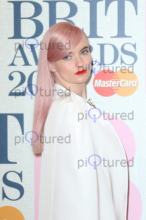 Grace Chatto, The BRIT Awards, The O2, London UK, 25 February 2015, Photo by Richard Goldschmidt