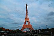 Sunset Eiffel Tower