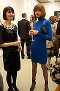 KATHRYN JACKSON; MAXINE WAREHAM, Opening reception of the Jerwood Gallery. The Stade, Hastings. 16 March 2012.