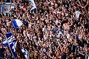 Tifosi Fortitudo<br /> Kontatto Fortitudo Bologna - Virtus Segafredo Bologna<br /> Lega Nazionale Pallacanestro 2016/2017<br /> Bologna, 14/04/2017<br /> Foto Ciamillo-Castoria / M. Brondi