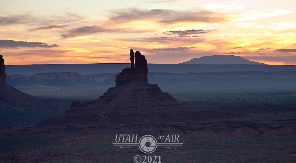 Big Indian formation in Monument Valley