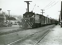 1950 Train on Santa Monica Blvd.