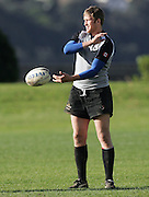 Colin Yukes during the Canada rugby team training session, Auckland, New Zealand on Monday 11 June 2007. Photo: Hagen Hopkins/PHOTOSPORT