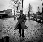 Tom Waits - St Katherines Dock - London photo sessions 1981