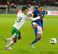 Malmö  2012-10-11  Fotboll  Landskamp  Brazil    - Iraq   :  .(Foto: Christer Thorell, Pic-Agency.com) Nyckelord : .