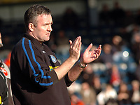 Photo: Kevin Poolman.<br />Wycombe Wanderers v Walsall. Coca Cola League 2. 17/03/2007. Wycombe manager Paul Lambert.