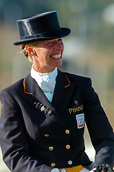 25-08-2004 GRE: Olympic Games day 13, Athens<br /> Dressuur - Anky van Grunsven op Salinero pakt opnieuw de gouden medaille