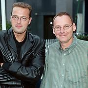Winterpresentatie RTL 4 Hilversum, Jeroen Latijnhouwer en Jan de Hoop