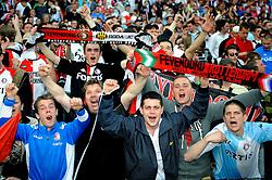 27-04-2008 VOETBAL: KNVB BEKERFINALE FEYENOORD - RODA JC: ROTTERDAM <br /> Feyenoord wint de KNVB beker - Feyenoord publiek support<br /> ©2008-WWW.FOTOHOOGENDOORN.NL