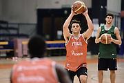 Biella, 14/12/2012<br /> Basket, All Star Game 2012<br /> Allenamento Nazionale Italiana Maschile <br /> Nella foto: stefano gentile<br /> Foto Ciamillo