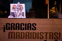XXX during the celebration of the victory of the Real Madrid Champions League at Plaza de Cibeles in Madrid. May 28. 2016. (ALTERPHOTOS/Borja B.Hojas)