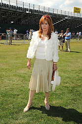 STEFANIE POWERS at the Cartier International Polo at Guards Polo Club, Windsor Great Park on 27th July 2008.<br /> <br /> NON EXCLUSIVE - WORLD RIGHTS