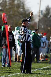 27 October 2012: Brown County Hornets v Le Roy Panthers 1st round IHSA Football playoffs in Leroy Illinois