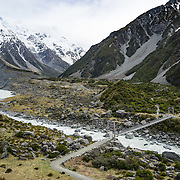 Tramp to Mt Cook, New Zealand