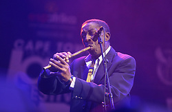 Apr 1, 2016 - Cape Town, Western Cape , South Africa - LENNY 'SPECIAL' MABASO performed at the 16th Annual Cape Town Jazz Festival, that took place at the Cape Town International Convention Centre. (Credit Image: © Bertram Malgas via ZUMA Wire)