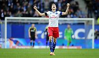 1:0 Jubel Marcell Jansen (HSV)<br /> Fussball Bundesliga, Hamburger SV - Borussia Dortmund<br /> <br /> Norway only