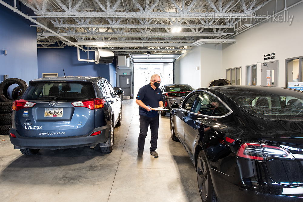 Galaxy Motors vehicle repair shop in Langford BC is state of the art and always clean.