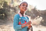 Little girl in Lalibela, Ethiopia