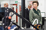 17 September 2020: Visit by the Princess Royal to officially open the National Arco Distribution Centre (NDC 2)  in Hull, East Yorkshire.<br /> Arco specialise in safety equipment including PPE for Covid-19.<br /> Picture: Sean Spencer/Hull News & Pictures Ltd<br /> 01482 210267/07976 433960<br /> www.hullnews.co.uk         sean@hullnews.co.uk