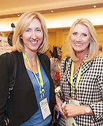 20/11/2014  repro free  Cheryl Dennis UK Trade and Investment, and Laura Conneely The HR Company<br />  at the Galway Bay Hotel for the two day conference Meet West attracting over 400 business people from around Ireland for the largest networking event in the Country . Photo:Andrew Downes