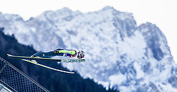 31.12.2013, Olympiaschanze, Garmisch Partenkirchen, GER, FIS Ski Sprung Weltcup, 62. Vierschanzentournee, Qualifikation, im Bild Taku Takeuchi (JPN) // Taku Takeuchi (JPN) during qualification Jump of 62nd Four Hills Tournament of FIS Ski Jumping World Cup at the Olympiaschanze, Garmisch Partenkirchen, Germany on 2013/12/31. EXPA Pictures © 2014, PhotoCredit: EXPA/ JFK