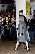 MADRID, SPAIN, 2016, MARCH 10 <br /> <br /> Their Majesties The Kings of Spain, attending the Concert for Victims of Terrorism at the National Auditorium of Music. It happened on March 11, 2004<br /> ©Exclusivepix Media