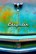 Kansas / Classic Early 1950's Chrysler / House / Drive Way
