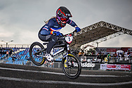 2021 UCI BMXSX World Cup<br /> Round 4 at Bogota (Colombia)<br /> Qualification Moto<br /> ^we#5 MAIRE, Camille (FRA, WE) Supercross, RIM, Fist