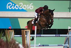 Mohammed Bassem Hassan, QAT, Primeval Dejavu<br /> Olympic Games Rio 2016<br /> © Hippo Foto - Dirk Caremans<br /> 16/08/16