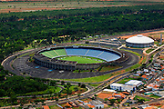 Uberlandia_MG, Brasil...Vista aerea do estadio Joao Avelange em Uberlandia...The aerial view of Joao Avelange stadium in Uberlandia...Foto: BRUNO MAGALHAES / NITRO