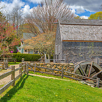 Spring bloom at the historic Dexter Grist Mill aka the Dexter Historical Society Museum in Sandich, MA on Cape Cod. <br /> <br /> Dexter Grist Mill fine art photography images are available as museum quality photography prints, canvas prints, acrylic prints, wood prints or metal prints. Fine art prints may be framed and matted to the individual liking and decorating needs:<br /> <br /> https://juergen-roth.pixels.com/featured/cape-cod-dexter-grist-mill-juergen-roth.html<br /> <br /> Good light and happy photo making!<br /> <br /> My best,<br /> <br /> Juergen