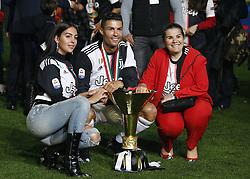 May 19, 2019 - Turin, ITA, Italy - Cristiano Ronaldo and his family during Serie A match between Juventus v Atalanta, in Turin, on May 19, 2019  (Credit Image: © Loris Roselli/NurPhoto via ZUMA Press)
