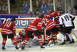 Ice-hockey game Canada vs Germany in Qualifying Round Group F, at IIHF WC 2008 in Halifax,  on May 10, 2008 in Metro Center, Halifax, Nova Scotia,Canada. Canada won 11:1. (Photo by Vid Ponikvar / Sportal Images)