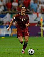 Photo: Glyn Thomas.<br />England v Portugal. Quarter Finals, FIFA World Cup 2006. 01/07/2006.<br /> Portugal's Cristiano Ronaldo.