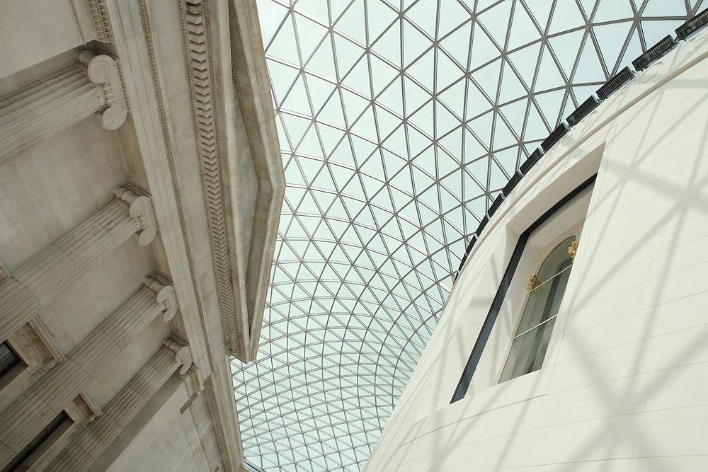 Interior Rotunda British Museum - London, UK