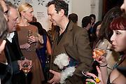 TOM DIXON AND HIS DOG, Wallpaper Design Awards 2012. 10 Trinity Square<br /> London,  11 January 2011.