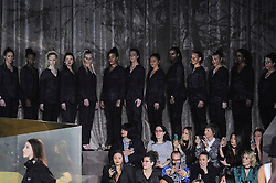 Model present the Fashion of H and M, Autumn Winter 2016, Ready to Wear, Paris Fashion Week. EXPA Pictures © 2016, PhotoCredit: EXPA/ Photoshot/ Digital Catwalk<br /><br />*****ATTENTION - for AUT, SLO, CRO, SRB, BIH, MAZ only*****