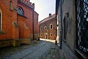 Ulica Katedralna w Tarnowie, Polska<br /> Katedralna Street in Tarnów, Poland