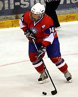Ishockey<br /> VM for kvinner<br /> Graz Østerrike <br /> Norge<br /> Foto: Gepa/Digitalsport<br /> NORWAY ONLY<br /> <br /> 09.04.2009<br /> <br /> IIHF Damen Eishockey Weltmeisterschaft, Divison 1, NOR vs AUT. Bild zeigt Marte Carlsson (NOR)