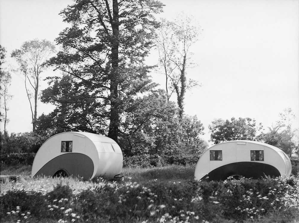 One-and Two-Roomed Caravans, England, 1935