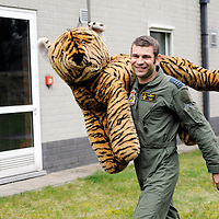 """Kleine Brogel, Belgium 14 March 2008<br /> 31 Tiger squadron of the Belgian Air Force. <br /> Pilot's name: """"Sam"""".<br /> The primary task of the squadron is taking out ground targets by 'dumb' unguided bombs or by precision bombardments, this during day and night.<br /> Also a great part of training is dedicated to """"air-to-air engagements"""" (intercepting / destroying of hostile aircraft), to be able to operate under every conflict-scenario.<br /> Photo: Ezequiel Scagnetti"""