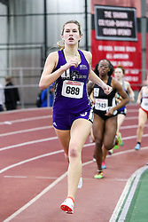 womens 800 meters, heat 11, Holy Cross<br /> BU John Terrier Classic <br /> Indoor Track & Field Meet