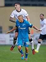 Fotball<br /> 22.07.2014<br /> Foto: Gepa/Digitalsport<br /> NORWAY ONLY<br /> <br /> Derby County FC vs FC Zenit St. Petersburg, IFCS test match. <br /> <br /> Image shows Jeff Hendrick (Derby) and Igor Smolnikov (Zenit).