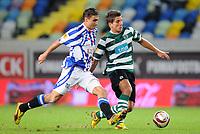20091103: LISBON, PORTUGAL - Sporting Lisbon vs Heerenveen: Europa League 2009/2010 - Group Stage. In picture: Daniel Carrico. PHOTO: Alexandre Pona/CITYFILES
