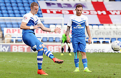 Peterborough United's Marcus Maddison scores direct from a free-kick - Photo mandatory by-line: Joe Dent/JMP - Mobile: 07966 386802 - 18/10/2014 - SPORT - Football - Peterborough - London Road Stadium - Peterborough United v Barnsley - Sky Bet League One