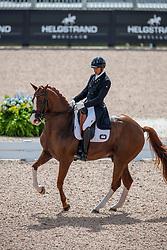 Mendoza Loor Julio Cesar, ECU, Chardonnay<br /> World Equestrian Games - Tryon 2018<br /> © Hippo Foto - Dirk Caremans<br /> 13/09/18