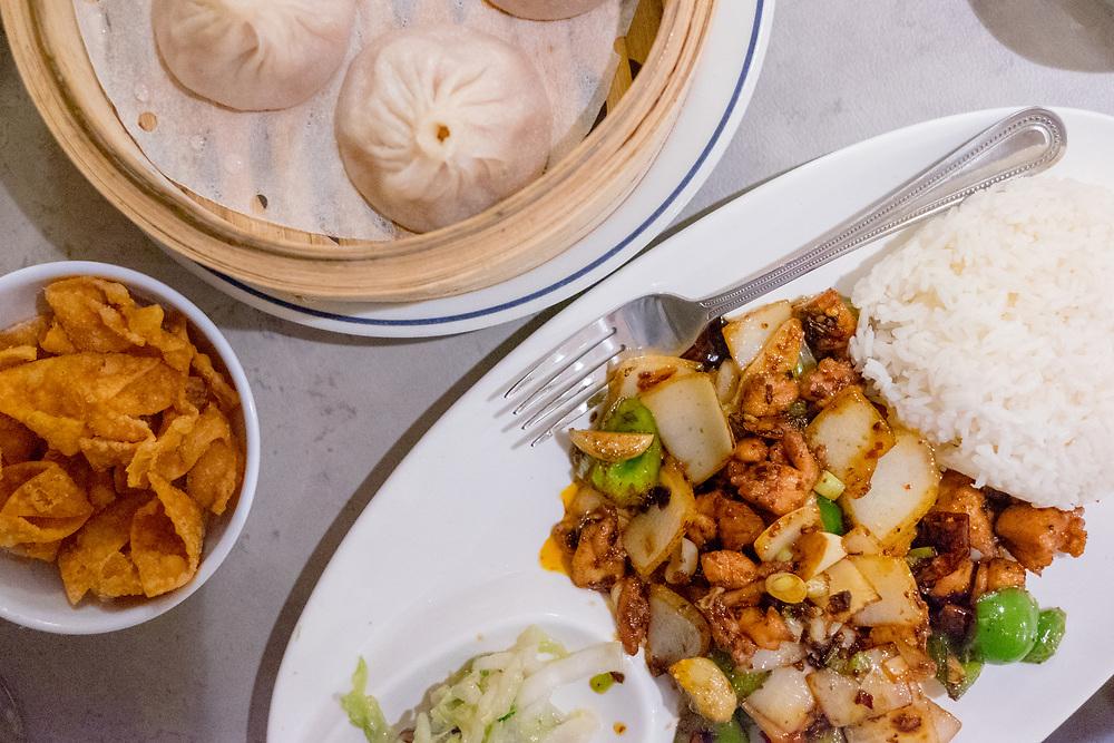 Dry Pot Chicken & Soup Dumplings at Baodega (¢hun) - NYC: Anniversary visit