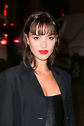 Guest arriving at Dior Addict Stellar Shine diner and party at Roxie restaurant during Ready To Wear A/W 2019-2020 as part of Paris Fashion Week on February 26, 2019 in Paris, France. Photo by Nasser Berzane/ABACAPRESS.COM