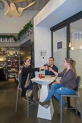 United States, Washington, Kirkland, Maison DeLille wine lounge